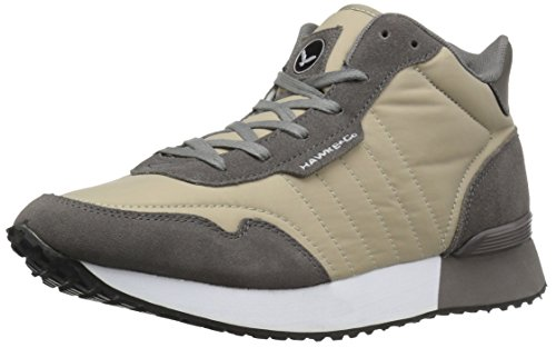 Hawke amp; Beige Sneaker Grey Men's Co Warren Mid Fashion rOqBr7dn