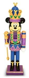 Disney Parks Mickey Mouse Purple King Nutcracker Christmas Holiday NEW