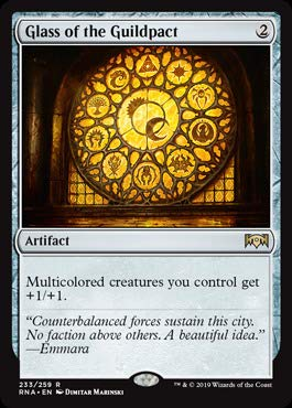 Magic: The Gathering - Glass of The Guildpact (233/259) - Ravnica Allegiance