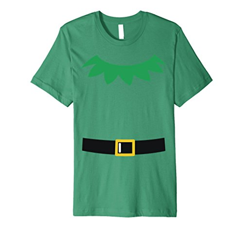 Christmas Elf Costume Ideas (Mens Christmas Costume Elf Funny Idea Shirt Gift Large Kelly Green)