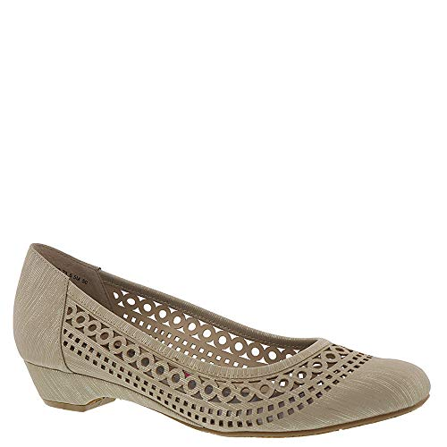 Ros Hommerson Tina Women's Casual Shoe: Taupe/Print 8.5 Wide (D) Slip-On