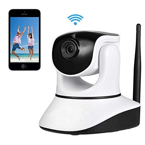 Home Security Camera,720P WiFi Security Camera Internet Surveillance Camera Built-in Microphone, Pan/Tilt with 2-Way Audio,Baby Video Monitor Nanny Cam, Night Vision Wireless IP Webcam