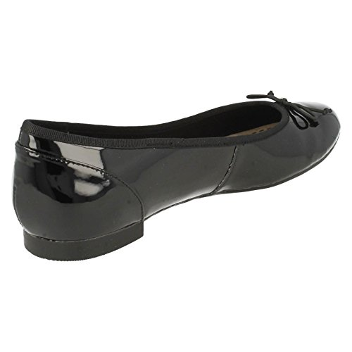 ClarksCouture Bloom - mocasines mujer Negro Patente