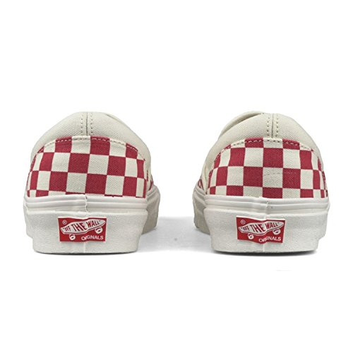Vans Slip-On(TM) Core Classics ( Primary Checker) Racing Red / White discount view NqMYw
