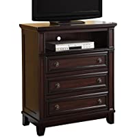 Abbey Avenue B-TYL-TV B Tyler Media Chest, Espresso