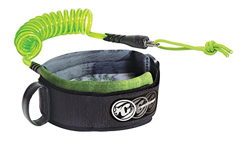 (Creatures of Leisure Ryan Hardy Bicep Leash, White Lime, Large)