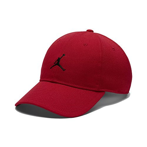 NIKE Mens Air Jordan Floppy H86 Dad Hat Gym Red/Black 847143-121 by NIKE