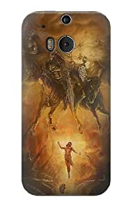 S1313 Four Horsemen of the Apocalypse Case Cover For HTC ONE M8
