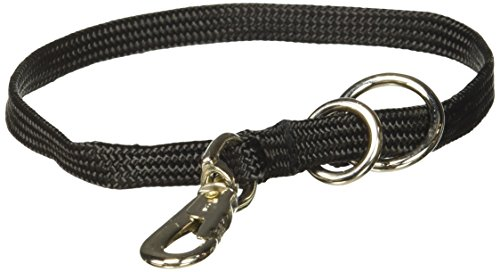 Collar Dog Nylon Show Choke (Resco Professional Braided Nylon Snap Choke Collar for Dogs, 18