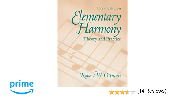 Elementary Harmony: Theory and Practice with CD (5th Edition ...