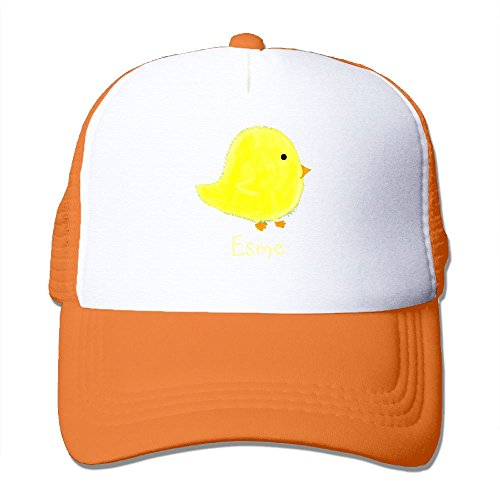 XiaoHans Momens Esme Baby Chick Shopping Beach Cool Jogging Orange Mesh Caps Adjustable - Centre Civic Shopping