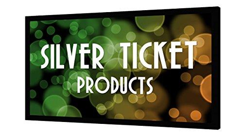 STR-169106 Silver Ticket 4K Ultra HD Ready Cinema Format (6 Piece Fixed Frame) Projector Screen (16:9, 106