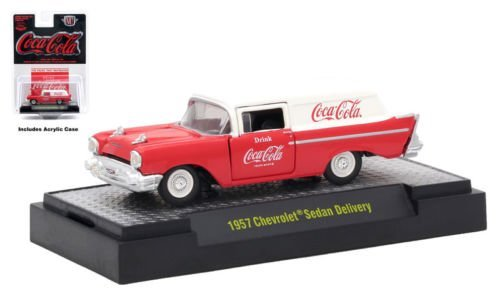 M2 Machines Limited Edition Coca-Cola Series 2-1957 Chevrolet Sedan Delivery RW02