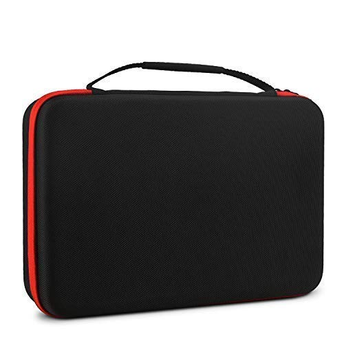 (ieGeek Portable DVD Player Carrying Case, Durable & Rigid Protective EVA Hard Shell Carry Bag, Carrying Travel Bag with Handle for 7.5-10.5 inch Portable DVD Player, Portable TFT/LCD)