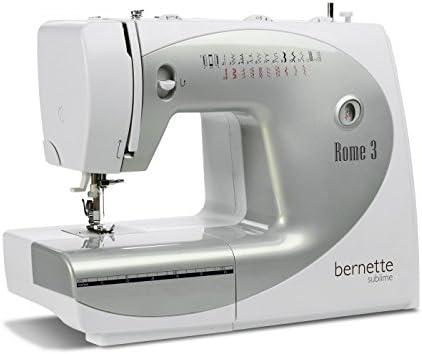 Bernina 0617724719998 - Máquina de Coser Bernette Rome 3: Amazon ...
