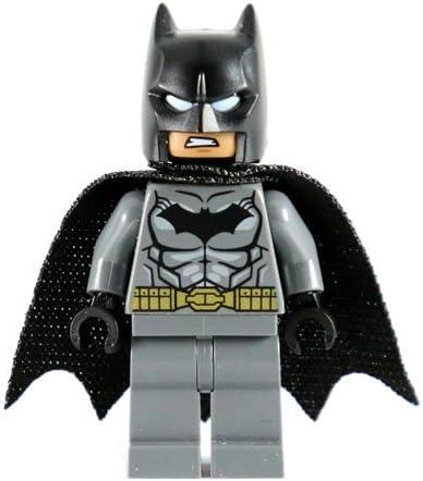 LEGO DC Comics Super Heroes Batman Minifigure - Batman Dark Gray Gold Belt