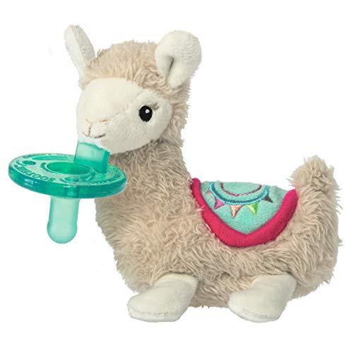 Mary Meyer WubbaNub Soft Toy and Infant Pacifier, LilyLlama