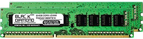 (8GB 2X4GB RAM Memory for Compaq ProLiant BL460c G7 Server Blade Black Diamond Memory Module 240pin PC3-8500 1066MHz DDR3 ECC UDIMM Upgrade)