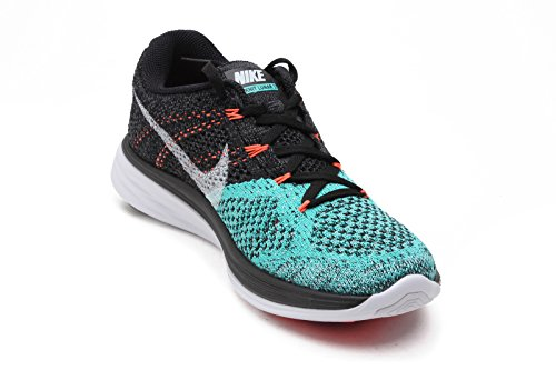 BLACK GLOW Laufschuhe Damen WHITE LAVA Lunar3 Flyknit Nike xnzqw7II