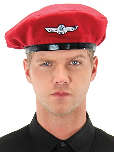 UHC Doctor Who Unit Beret Hat w/ Wings Halloween Adult Costume Accessory - Doctor Who Unit Costume