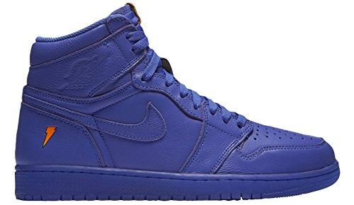 Mens Retro Trainers - NIKE Air Jordan 1 Retro Hi OG G8RD Mens Trainers AJ5997 Sneakers Shoes (UK 8.5 US 9.5 EU 43, Rush Violet 555)
