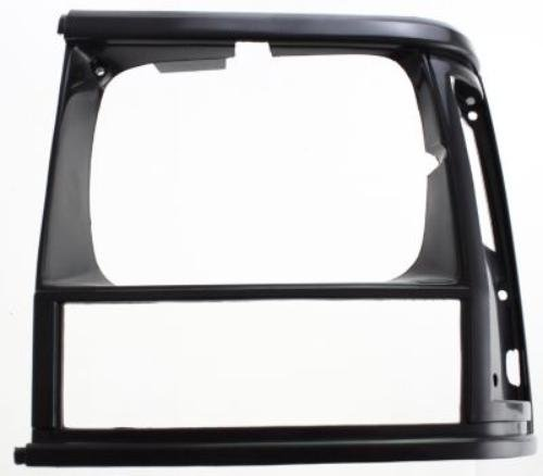 CPP Black Single Left Side Headlight Door for Jeep Cherokee, Comanche CH2512124
