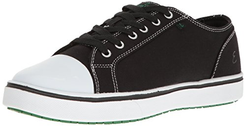 Emeril Lagasse Women's Canal Canvas Shoe, Black/White, 9.5 W US