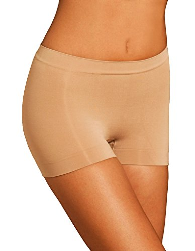 Body Wrap Lites Nude Catwalk Seamless Boy Short 47822 Large/12 US