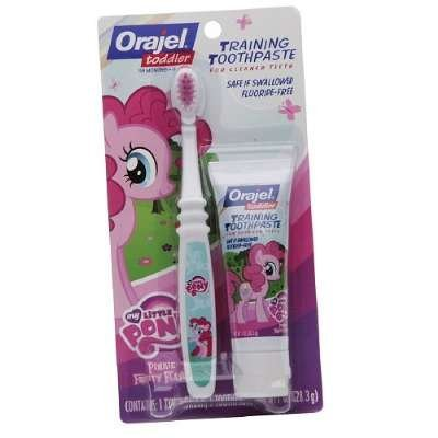 MY LITTLE PONY Toddler formation Dentifrice - Pinkie Fruité