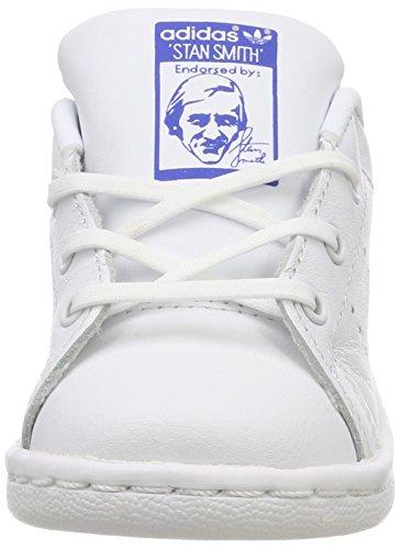 Ftwbla Stan Ftwbla Bianco adidas i Smith Sneaker Bianco Bimbi Azul Unisex AxqCa8w