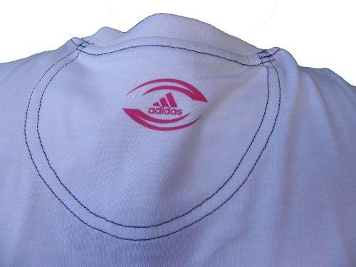 Adidas SFR GR TEE 1 Paris - T-shirt bianca, taglie: S, M, XL