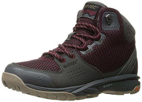 Hi-tec Donna V-lite Wildlife Mid I Backpacking Boot Vino / Carboncino