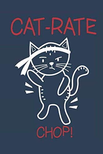 Cats and Karate: Notebook for cat lovers, owners and karate - Karate Fighter