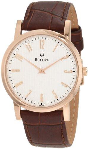 Buy bulova watch leather strap