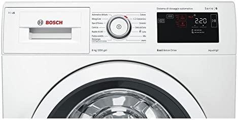 Bosch Lavadora wat24638it Silence Eco Drive 8 kg clase A + + ...
