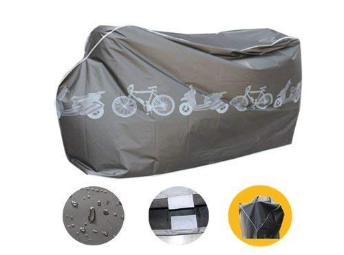 Uteruik Funda Impermeable para Bicicleta de monta/ña Apta para Interior y Exterior