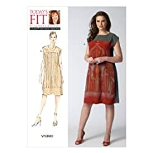 Vogue Patterns V1390 Misses' Dress Sewing Template, All Sizes