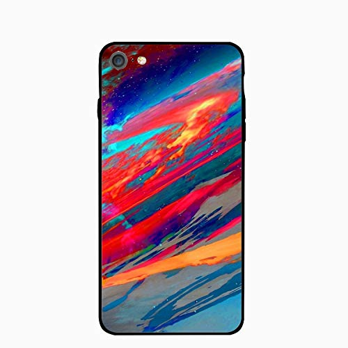 Colorful Nebula iPhone 6S Case for Girls,iPhone 6 Case,Hard PC Case Anti Slip Protective Cover for iPhone 6/6S 4.7