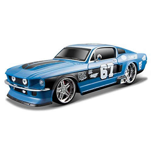 Miniature Toy Cars (Maisto R/C 1:24 Scale 1967 Ford Mustang GT Radio Control Vehicle (Colors/ Mhz May)