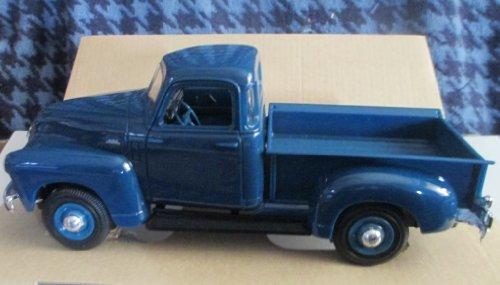 #6287EO AMT/ Ertl 1950 Chevrolet Pickup,Mariner Blue 1/25 Scale Plastic Promo Model Car, Fully Assembled (Promo Model Car)