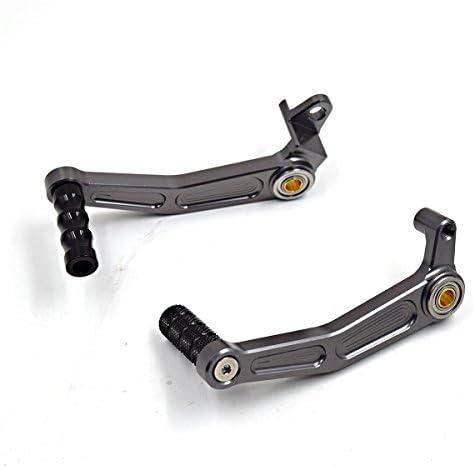 Motorrad Bremsen Schalthebel Hebel Gear Shift Hebel Für Duke 125 200 390 Rc125 Rc200 Rc390 Kupplung Pedalhebel Grau Auto