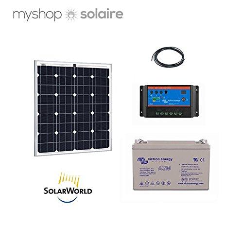 Kit Solar 80 W, 12 V