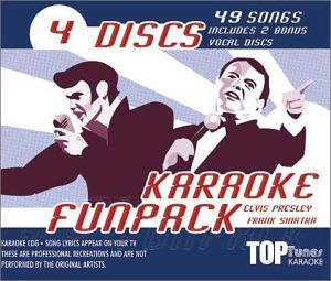 (Top Tunes Karaoke CDG Elvis & Frank Fun Pack  TTFP-53&54)