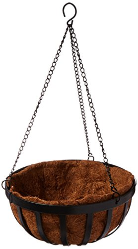 Gardman R945 Forge Hanging Basket with Coco Liner, 12