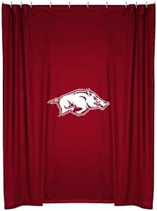 Amazon.com: Arkansas Razorbacks NCAA Shower Curtain ...