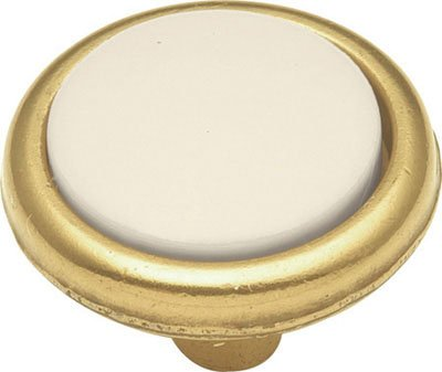 Belwith P225-LAD 1.19 Inch Knob Light Almond-Lancaster Knob
