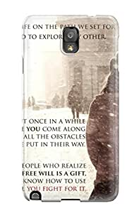 Snap-on Case Designed For Galaxy Note 3- Motivational