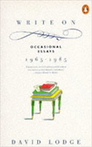 Write on: Occasional Essays, 1965-85