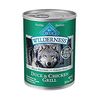 Blue Buffalo Wilderness Duck and Chicken Cubes Dog Food Grain Free 12.5 oz. - Case of: 12