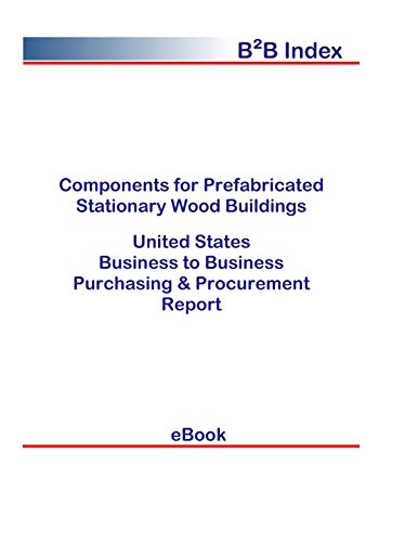 Components for Prefabricated Stationary Wood Buildings B2B United States: B2B Purchasing + Procurement Values in the United States (Value Stationary)